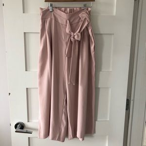 Carolina Belle Montreal pink chiffon culottes